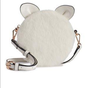 Lauren Conrad Faux-Fur Cat crossbody Bag.